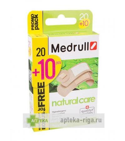 Medrull plāksteris natural care, 20+10 gb.