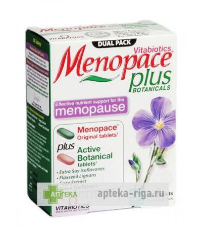 Menopace Plus, 56 tabletes