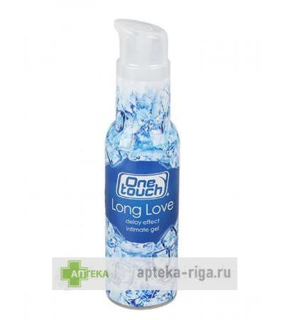 One Touch Long Love gels-lubrikants, 75 ml