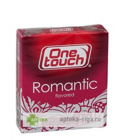 Prezervatīvi One Touch Romantic, 3 gb.