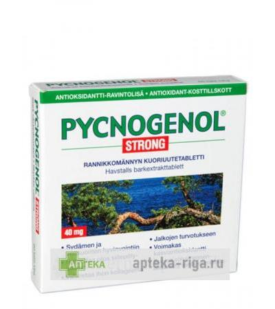 Pycnogenol Strong, 60 tabletes